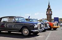 Nederland - Zandvoort - 8 juli 2018.  Het British Festival. Dit jaar staat het British Festival in het teken van de Grand Prix. Rolls Royce op de paddock.    Foto Berlinda van Dam Hollandse Hoogte
