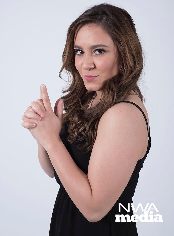 "NWA Democrat-Gazette/J.T. WAMPLER Daniela ""Dany"" Garcia is the Chica Jueves for March 17, 2016."