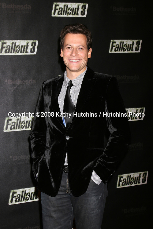 "Ioan Gruffudd arriving at the Launch of ""Fallout 3"" Videogame at the LA Center Studios  in Los Angeles, CA.October 16, 2008.©2008 Kathy Hutchins / Hutchins Photo...                ."