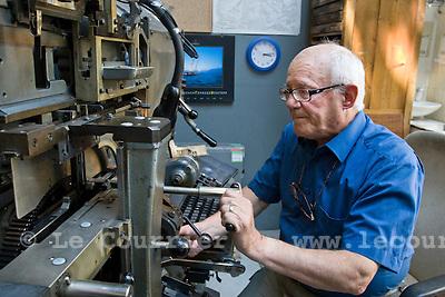 Genève, le 03.06.2009.Maison du patrimoine et des arts graphiques. M. Yvon Jay.© Le Courrier / J.-P. Di Silvestro
