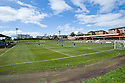 Cliftonhill, the dilapidated home of Albion Rovers.... Elgin manager Ross Jack tried to encourage his players by telling them that if they don't want to have to return to a stadium like this then they had to win today's game ....