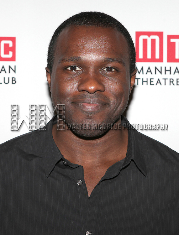 "Joshua Henry.attending the Manhattan Theatre Club's ""The Whipping Man"" Opening Night Party in New York City."