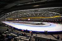 SCHAATSEN: HEERENVEEN: IJsstadion Thialf, 11-01-2013, Seizoen 2012-2013, Essent ISU EK allround, overzicht ijsbaan, ©foto Martin de Jong