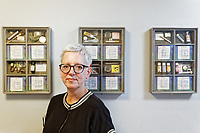 Pictured: Caroline Phipps, Chief Executive. Thursday 19 September 2019<br /> Re: Barod Substance Misuse Centre in Swansea, Wales, UK.