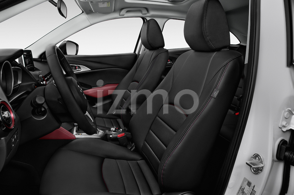 Front seat view of 2017 Mazda CX-3 Touring-AWD 5 Door SUV Front Seat  car photos