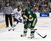 Mike Matczak (Yale - 7), Jonathan Higgins (Vermont - 25) - The University of Vermont Catamounts defeated the Yale University Bulldogs 4-1 in their NCAA East Regional Semi-Final match on Friday, March 27, 2009, at the Bridgeport Arena at Harbor Yard in Bridgeport, Connecticut.