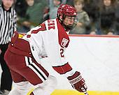Petr Placek (Harvard - 27) - The Harvard University Crimson defeated the visiting Colgate University Raiders 4-2 on Saturday, November 12, 2011, at Bright Hockey Center in Cambridge, Massachusetts.