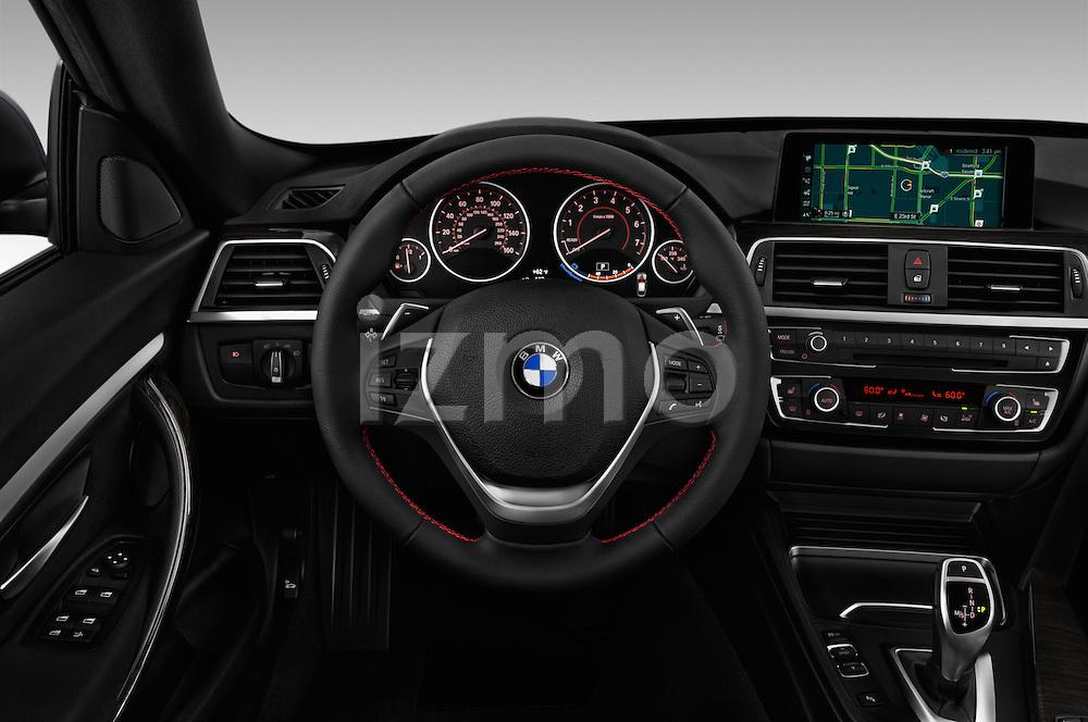 Car pictures of steering wheel view of a 2018 BMW 3-Series 330i-Gran-Turismo 5 Door Hatchback Steering Wheel