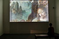 Opening of the Leonardo da Vinci exhibition at the Uffizi Gallery, Florence, Italy