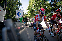 Caleb Ewan (AUS/Lotto-Soudal) over the last climb of the day: the Côte de cinq chateaux<br /> <br /> Stage 5: Saint-Dié-des-Vosges to Colmar (175km)<br /> 106th Tour de France 2019 (2.UWT)<br /> <br /> ©kramon