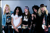 Dec 18, 1987: GUNS N' ROSES - Photosession in Chicago IL USA