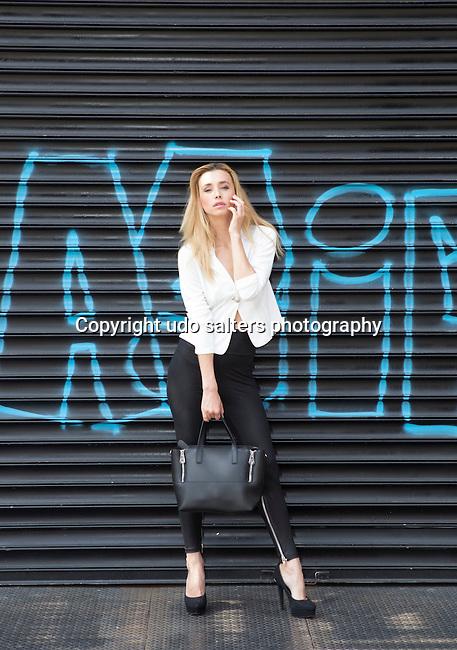 Photo shoot with Playboy Model Dominika