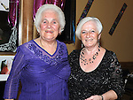 Breda Bird celebrating her 80th birthday with her sister Doreen Allens in the Thatch. Photo: Colin Bell/pressphotos.ie