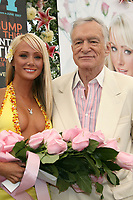 "27 September 2017 - Hugh Marston Hefner aka ""Hef"" was an American magazine publisher, editor, businessman, and international playboy best known as the editor-in-chief and publisher of Playboy magazine, which he founded in 1953. Hefner was the founder and chief creative officer of Playboy Enterprises, the publishing group that operates the magazine. Hefner was also a political activist and philanthropist. File Photo: 03 May 2007 - Holmby Hills, California - Sara Jean Underwood, 2007 Playmate of the Year and Hugh Hefner. 2007 Playmate of the Year Luncheon held at the Playboy Mansion. Photo Credit: Russ Elliot/AdMedia"