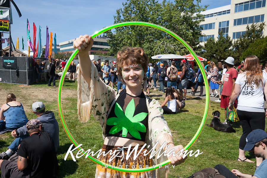 Hempfest Seattle 2017, Washington State, USA.