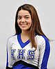 Gillian Katsumi of Hauppauge poses for a portrait during the Newsday All-Long Island cheerleading photo shoot at company headquarters on Tuesday, Mar. 15, 2016.
