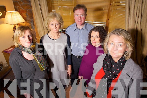 Workers at Adapt from left Anna O'Donoghue, Betty Garnett, Brendan Rowantree, Catherine Fennell and Vera O'Leary.