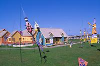 L'Anse de l'Etang-du-Nord, Ile du Cap-aux-Meules, Iles de la Madeleine, Quebec, Canada - Place de Marche - (North Pond Cove, Grindstone Island, Magdalen Islands)