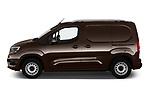 Car driver side profile view of a 2019 Opel Combo Dynamic 4 Door Car van