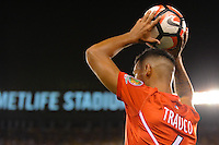 East Rutherford, NJ - Friday June 17, 2016: Miguel Trauco after a Copa America Centenario quarterfinal match between Peru (PER) vs Colombia (COL) at MetLife Stadium.