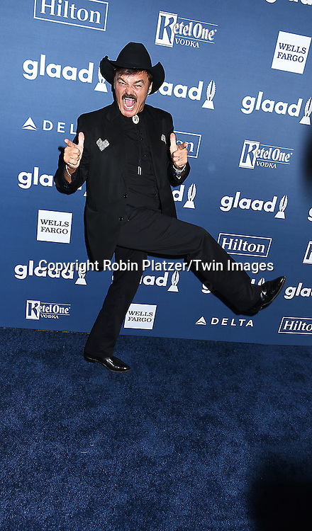 Randy Jones attends the 27th Annual GLAAD Media Awards on May 14, 2016 at the Waldorf Astoria Hotel in New York City, New York, USA.<br /> <br /> photo by Robin Platzer/Twin Images<br />  <br /> phone number 212-935-0770