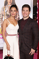 "LOS ANGELES - FEB 11:  Chloe Bridges, Adam DeVine at the ""Isn't It Romantic"" World Premiere at the Theatre at Ace Hotel on February 11, 2019 in Los Angeles, CA"