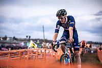 Antoine Benoist (FRA)<br /> <br /> Men's U23 race<br /> UCI 2020 Cyclocross World Championships<br /> Dübendorf / Switzerland<br /> <br /> ©kramon
