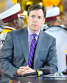NBC Sports anchor Bob Costas prior to the Indianapolis Colts against the Washington Redskins game at FedEx Field in Landover, Maryland on Sunday, October 17, 2010..Credit: Ron Sachs / CNP