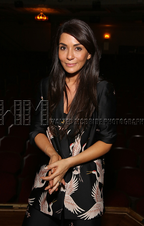 """Marisol Nichols from the cast of """"Riverdale"""" visits Broadway's """"Bandstand"""" at the Bernard Jacobs Theate on May 19, 2017 in New York City."""