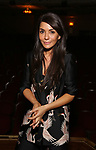 "Marisol Nichols from the cast of ""Riverdale"" visits Broadway's ""Bandstand"" at the Bernard Jacobs Theate on May 19, 2017 in New York City."