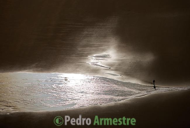 PLAYA Y CAMPO DE GOLF DE OYAMBRE-CANTABRIA. 2008-04-16. (C) Pedro ARMESTRE