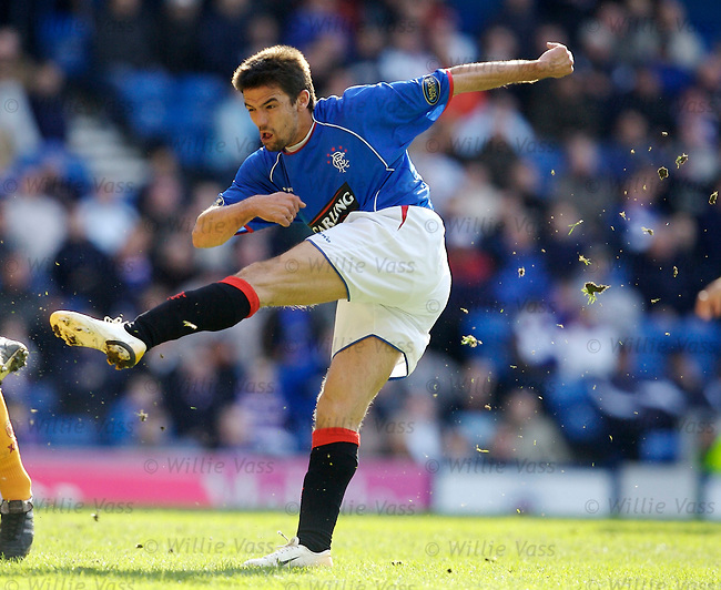 Nacho Novo, Rangers.stock season 2005-2006.pic willie vass