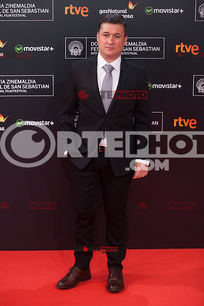 Secun de la Rosa poses before 63rd Donostia Zinemaldia opening ceremony (San Sebastian International Film Festival) in San Sebastian, Spain. September 18, 2015. (ALTERPHOTOS/Victor Blanco) /NortePhoto.com