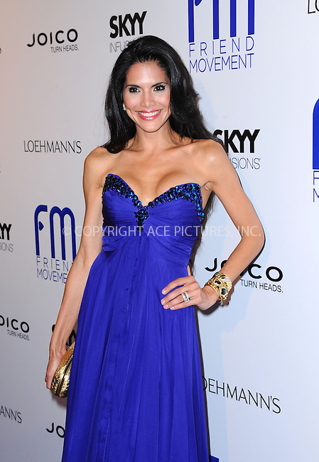 WWW.ACEPIXS.COM<br /> <br /> July 1 2013, LA<br /> <br /> Joyce Giraud at the Friend Movement Campaign benefit concert at the El Rey Theatre on July 1, 2013 in Los Angeles, California<br /> <br /> By Line: Peter West/ACE Pictures<br /> <br /> <br /> ACE Pictures, Inc.<br /> tel: 646 769 0430<br /> Email: info@acepixs.com<br /> www.acepixs.com