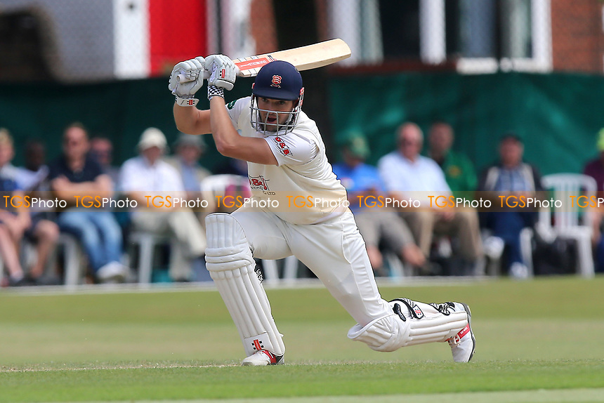 Nick Browne hits four runs for Essex during Surrey CCC vs Essex CCC, Specsavers County Championship Division 1 Cricket at Guildford CC, The Sports Ground on 10th June 2017