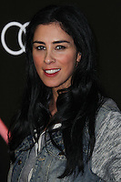 LOS ANGELES, CA - JANUARY 09: Sarah Silverman at the Audi Golden Globe Awards 2014 Cocktail Party held at Cecconi's Restaurant on January 9, 2014 in Los Angeles, California. (Photo by Xavier Collin/Celebrity Monitor)