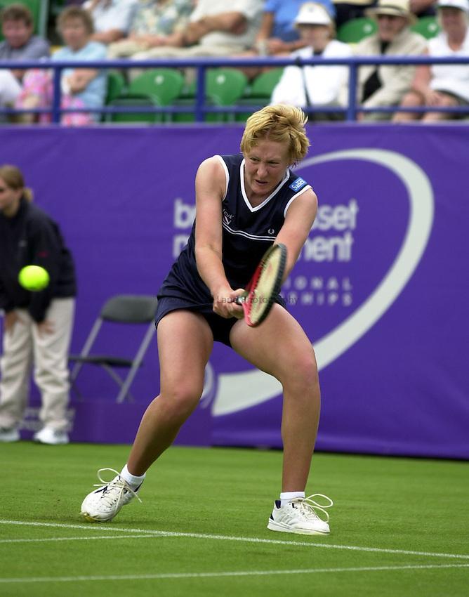 Photo:Rene Solari.Final Qualifying round.  .British Girl Elena Baltacha. ..