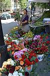 Flowers at Farmer's Market in Portland