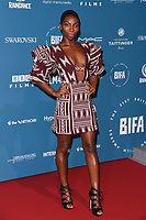 LONDON, UK. December 02, 2018: Michaela Coel at the British Independent Film Awards 2018 at Old Billingsgate, London.<br /> Picture: Steve Vas/Featureflash