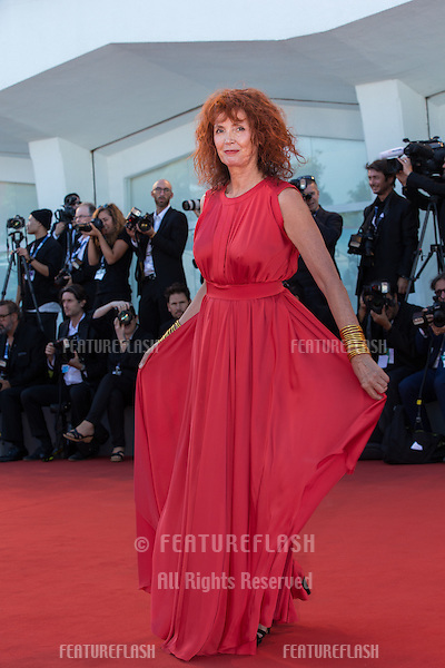 Actress Sabine Azema a special screening of Tavernier's 1989 movie &quot;Life And Nothing But&quot; (&quot;La vie et rein d'autra&quot;). He was awarded with the Golden Lion For Lifetime Achievement 2015 at a ceremony at the 2015 Venice Film Festival.<br /> September 8, 2015  Venice, Italy<br /> Picture: Kristina Afanasyeva / Featureflash