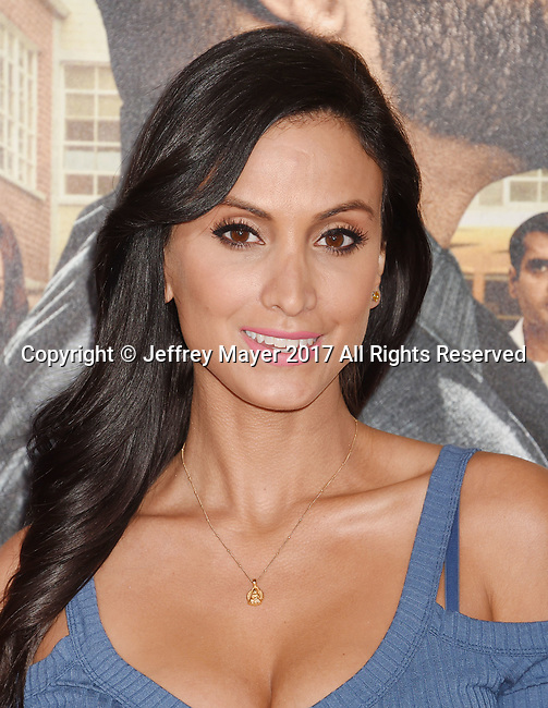 HOLLYWOOD, CA - FEBRUARY 13: Actress Crystal Marie Denha attends the premiere of Warner Bros. Pictures' 'Fist Fight' at the Regency Village Theatre on February 13, 2017 in Westwood, California.