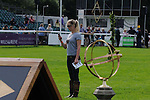 Emily Llewellyn at the 2012 Land Rover Burghley Horse Trials in Stamford, Lincolnshire,UK.