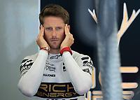 Romain GROSJEAN (FRA) (RICH ENERGY HAAS F1 TEAM) during the Bahrain Grand Prix at Bahrain International Circuit, Sakhir,  on 31 March 2019. Photo by Vince  Mignott.
