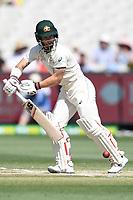 29th December 2019; Melbourne Cricket Ground, Melbourne, Victoria, Australia; International Test Cricket, Australia versus New Zealand, Test 2, Day 4; Matthew Wade of Australia edges  the ball - Editorial Use