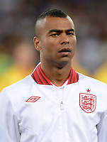 FUSSBALL  EUROPAMEISTERSCHAFT 2012   VIERTELFINALE England - Italien                     24.06.2012 Ashley Cole (England)