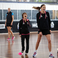 06.10.2013Action during the Silver Ferns training in Melbourne, Australia. Mandatory Photo Credit ©Michael Bradley.