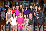 Helen O'Regan, Tullig Castleisland who celebrated her 40th birthday with her friends in the Lane bar Killarney on Saturday night front row l-r: Catriona Hough, Helen O'Regan, Janet Murphy, Eileen Brennan. Back row: Tracey Horan, Brid Devane, Juilette McGlynn, Sinead Brogty, Marlyn Walsh, Mairead Mulcahy, Mairead Buckley and Christina O'Connor