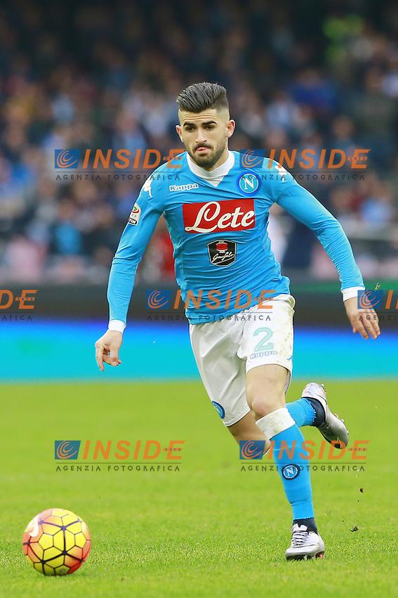 Elseid Hysaj Napoli,  <br /> Napoli 31-01-2016 Stadio San Paolo<br /> Football Calcio Serie A 2015/2016 Napoli - Empoli<br /> Foto Cesare Purini / Insidefoto