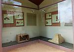 Columbarios Roman burial ground funerary inhumation exhibition, Merida, Extremadura, Spain
