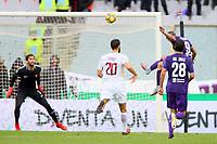 Gol Giovanni Simeone Fiorentina Goal celebration<br /> Firenze 05-11-2017 Stadio Artemio Franchi Calcio Serie A 2017/2018 Fiorentina - AS Roma Foto Filippo Rubin / Insidefoto